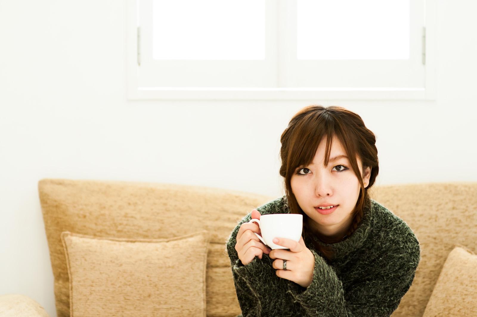 あれ・・私紅茶って言わなかったっけ? なんでコーヒーなの?ねぇ、なんで? はい、や~り~な~お~し!